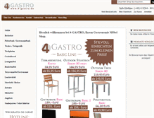 Tablet Preview of 4-gastro.de